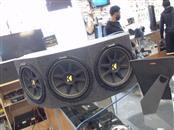 KICKER Car Speakers/Speaker System 12 INCH KICKER SPEAKERS IN BOX